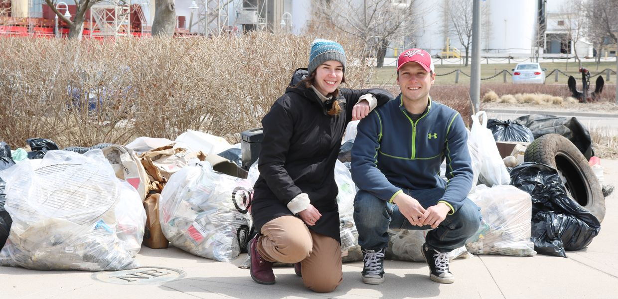 Thousands of plastic items, and more than 1,000 pounds of garbage, have been kept out of Lake Huron - thanks to volunteers and other partners of the shoreline cleanup in Goderich.