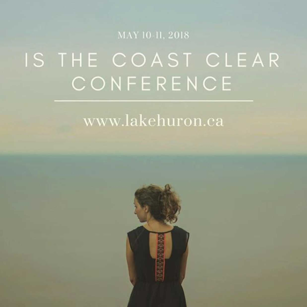 Is the Coast Clear? conference is May 10-11, 2018.